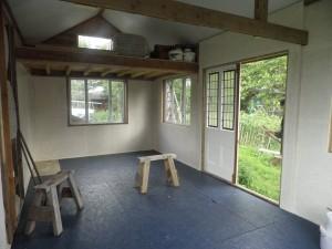 Woodland Treasures' workshop