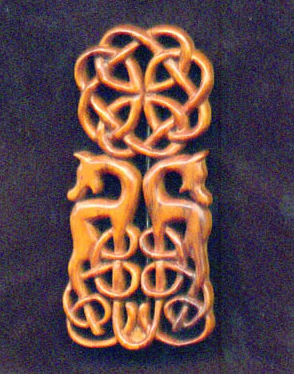 kilt pin in yew
