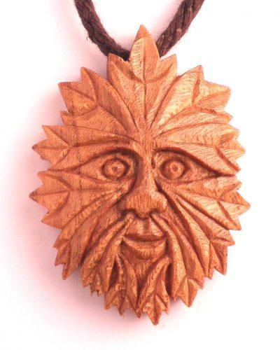 green man pendant in Edinburgh almond