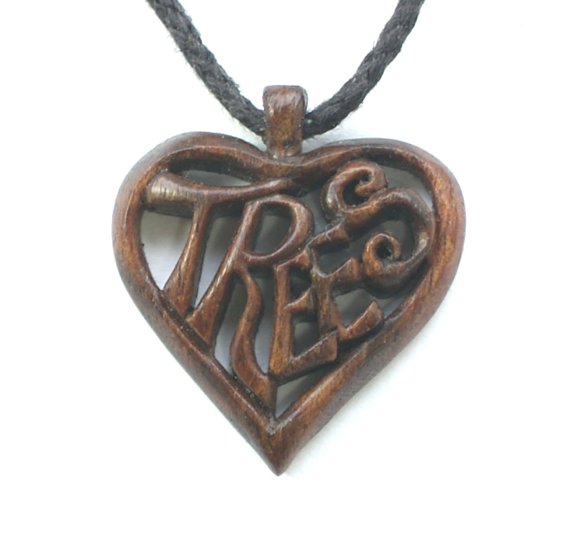 'Love Trees' necklace.