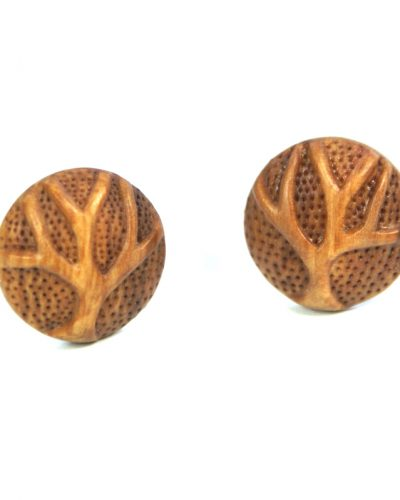 Tree cufflinks pear