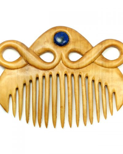 comb in box and lapis