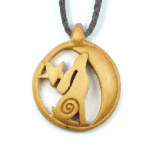 moon gazing hare necklace box