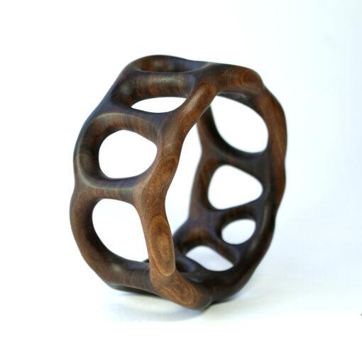 organico bangle walnut