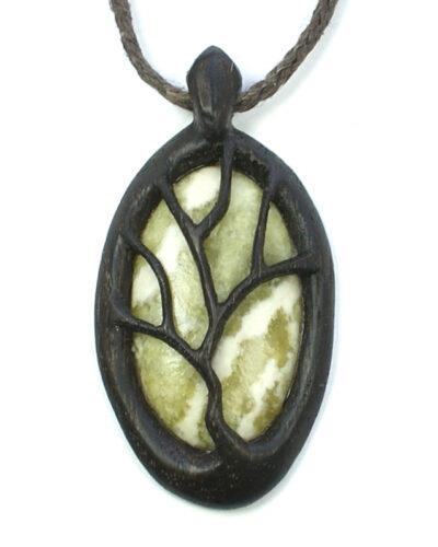 tree necklace bog oak marble 1