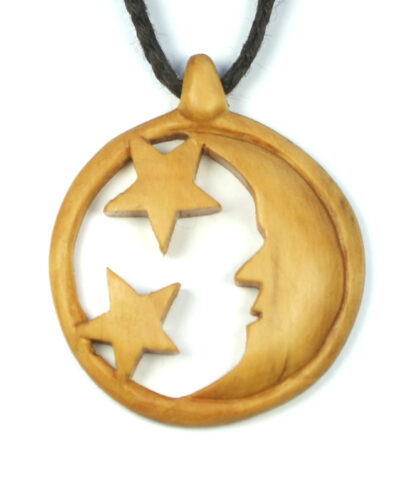 moon necklace box