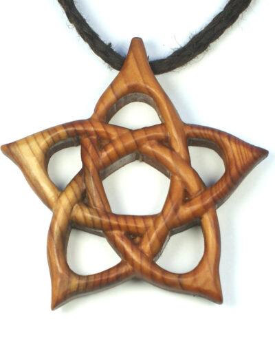 pentacle pendant yew